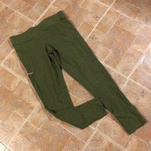 Columbia cropped leggings size women's medium